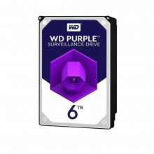 هارددیسک اینترنال وسترن دیجیتال مدل Purple ظرفیت 6 ترابایت