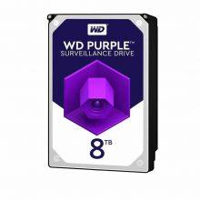 هارددیسک اینترنال وسترن دیجیتال مدل Purple ظرفیت 8 ترابایت