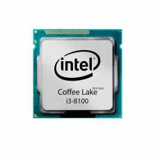 پردازنده مرکزی اینتل سری Coffee Lake مدل i3 8100