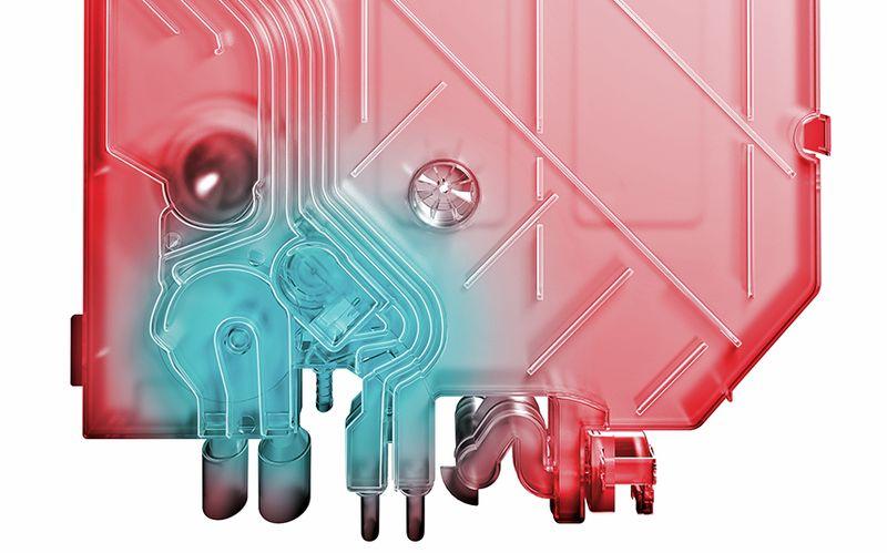 ماشین ظرفشویی بوش سیستم مبدل حرارتی یا Heat Exchanger