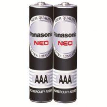 باتری نیم قلمی پاناسونیک 2 عددی-مشکی