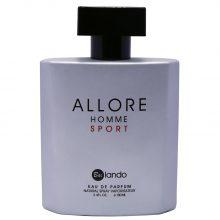 ادو پرفیوم مردانه بایلندو مدل  Allore Homme Sport حجم 100 میلی لیتر