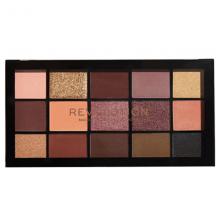 پالت سایه چشم 15 رنگ رولوشن مدل Velvet Rose