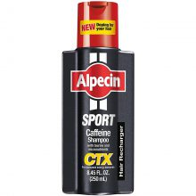 شامپو انرژی دهنده و تقویت کننده کافئین آلپسین Alpecin Sport CTX حجم 250 میلی لیتر